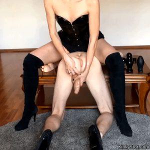 anal dildo femdom domination