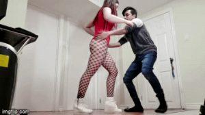 ballbusting girlfriend