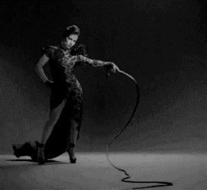 Domiatrix with whip