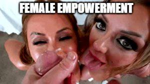 female empowerment facial