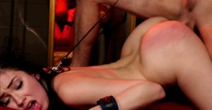 leash your pet and abuse her