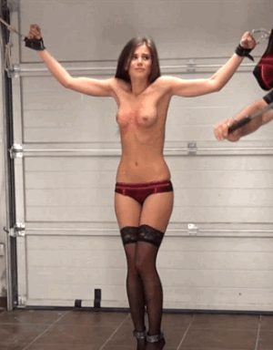 little caprice in the garage
