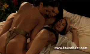 Mistress of Souls, www.boundheat.com films of lesbian erotica, domination and slavery