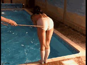 pool spank