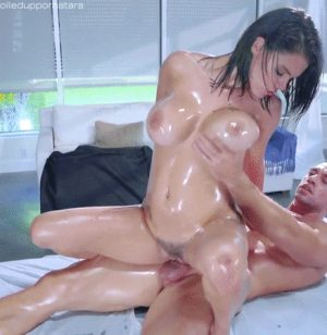 the afternoon full body massage Goddess Mira lost control of
